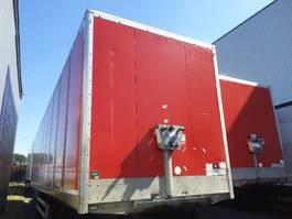 gesloten opbouw oplegger Samro Droge vracht 2012