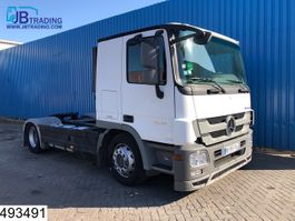 standaard trekker Mercedes Benz Actros 1841 EURO 5, Airco, Hydraulic, Car transporter, Powershift 2010