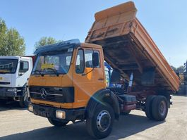 kipper vrachtwagen > 7.5 t Mercedes Benz 1619 Kipper 4x4 V6 Big Axle Perfect Condition 1985