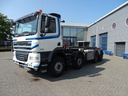 containersysteem vrachtwagen DAF CF85-460 / 8X4 / MANUAL / CABLESYSTEM / STEEL-STEEL / EURO-5 / 2010 2010