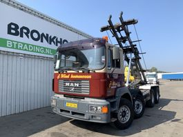 containersysteem vrachtwagen MAN 37.403 8x4 - N.C.H. Cable containersystem - Full steel - Big axles - 5212 1996