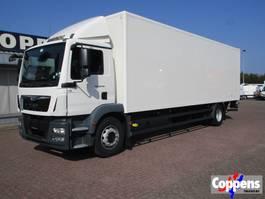 bakwagen vrachtwagen > 7.5 t MAN TGM 18.290 Gesloten bak met laadklep 3000kg!! Euro 6 2015