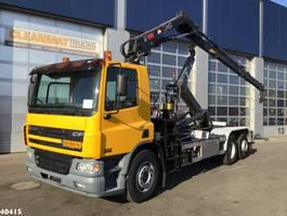 containersysteem vrachtwagen DAF FAN 75 CF 310 Hiab 12 ton/meter laadkraan 2002