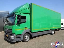 bakwagen vrachtwagen > 7.5 t Mercedes Benz 1018 L Atego Gesloten bak met laadklep Euro 6 2013