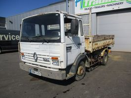 kipper vrachtwagen > 7.5 t Renault S tipper full lames/steel 1989