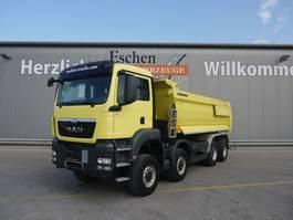 kipper vrachtwagen > 7.5 t MAN TGS 41.440 BB 8x8, Euro 5, hydr. Heckklappe 2014