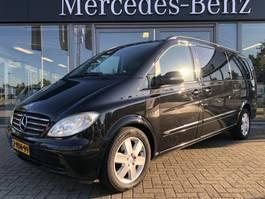 gesloten bestelwagen Mercedes Benz Viano 3.0 CDI 204 PK V6 XL Dubbel Cabine GB MARGE EUR 4 | Automaat, Luch... 2009