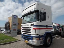 chassis cabine vrachtwagen Scania R440 TOPLINE 4X2 CHASSIS - Cabine Retarder 2012