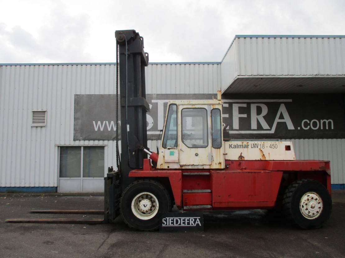 vorkheftruck Kalmar LMV 18-450 , 12-1200 1981