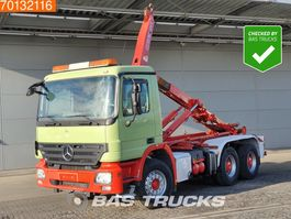 containersysteem vrachtwagen Mercedes Benz Actros 3344 6X4 Full-Steel Big-Axle 3-Pedals Euro 5 German-Truck 2008