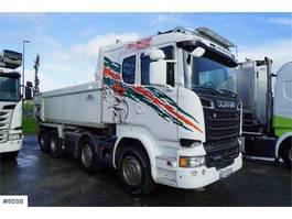 kipper vrachtwagen > 7.5 t Scania R580 8x4 tipper truck 2015