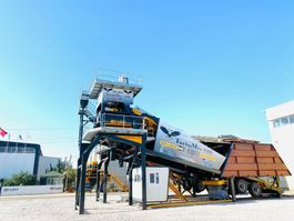 betonmixinstallatie TURBOMIX 100 MOBILE CONCRETE PLANT 100 M3/H READY IN STOCK Mobile 2020