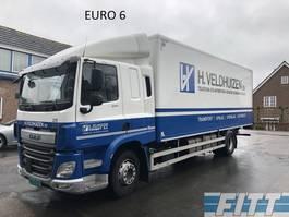 bakwagen vrachtwagen > 7.5 t DAF FA CF330 bakwagen met klep 2013