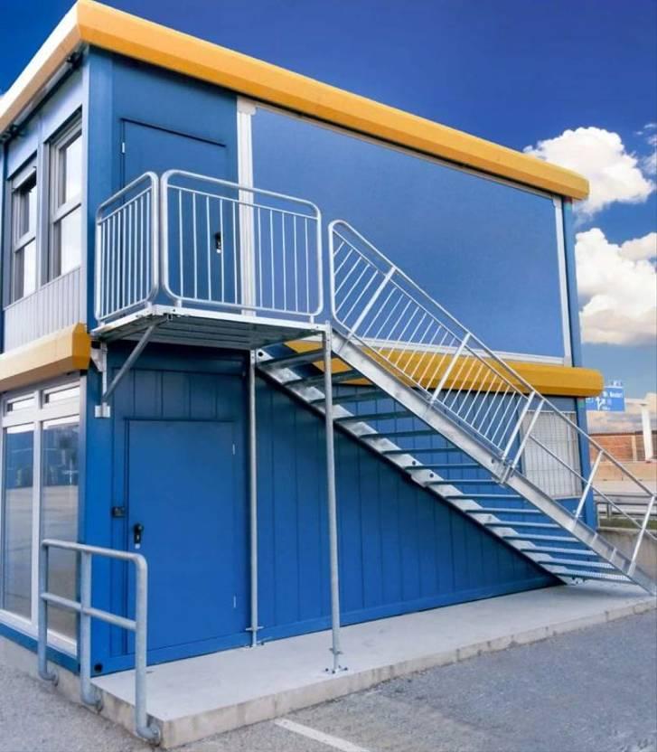 sanitaircontainer Diversen Nieuw! Containertrap en bordes 2020