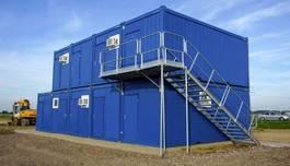geisoleerde zeecontainer Nieuw! Containertrap en bordes 2020