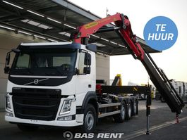 containersysteem vrachtwagen Volvo FM 8X2 - Autolaadkraan met haakarm | Geschikt voor huur en lease
