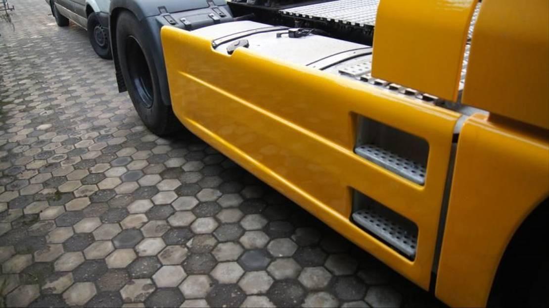 chassis vrachtwagen onderdeel MAN TGA TGX SIDE SKIRTS SET WB 3600MM EURO 3-5 NO COLOR 000078 000060 2021