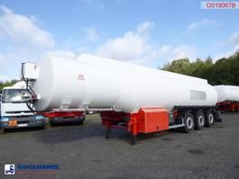 tankoplegger Cobo Fuel tank alu 41 m3 / 6 comp + pump/counter 2006
