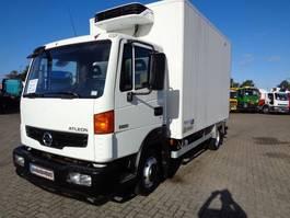 koelwagen vrachtwagen Nissan ATLEON + Manual + Carrier Xarios 350 2008