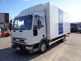 bakwagen vrachtwagen > 7.5 t Iveco EuroCargo 75E17 + Manual + Dhollandia Lift 2003