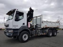 huifzeil vrachtwagen Renault KERAX 370dxi.26 6x4 + PK 20002 B 2008