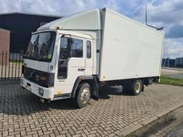 bakwagen vrachtwagen > 7.5 t Volvo FL6 11 8BOLTS TAILGATE/LAADKLEP/HOLLAND TRUCK 1988