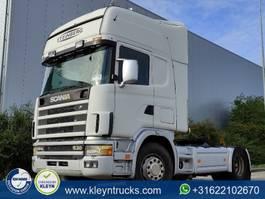 standaard trekker Scania R144.530 manual retarder 2001