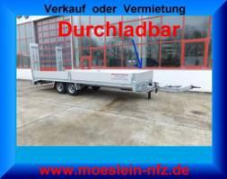 dieplader oplegger Möslein TTT 11- 7,28  Neuer Tandemtieflader, 7,28 m Ladefläche 2021