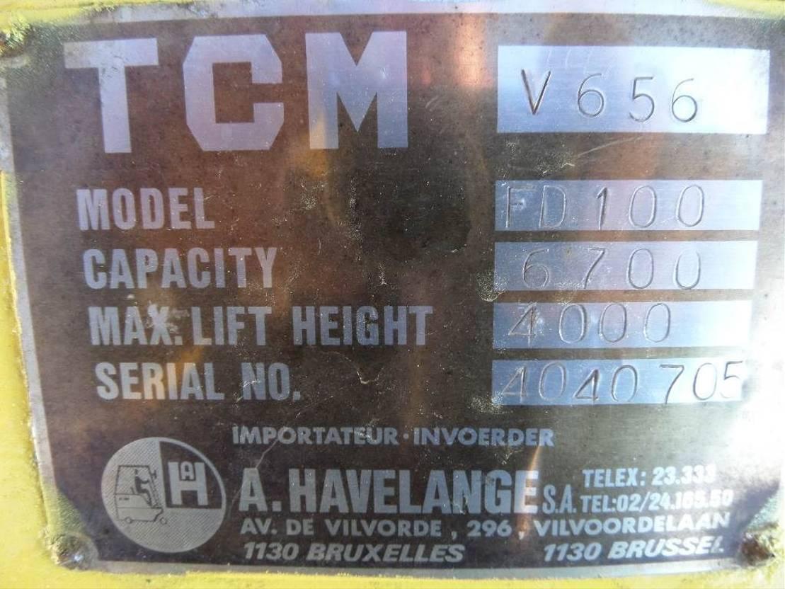 vorkheftruck TCM FD100 1985