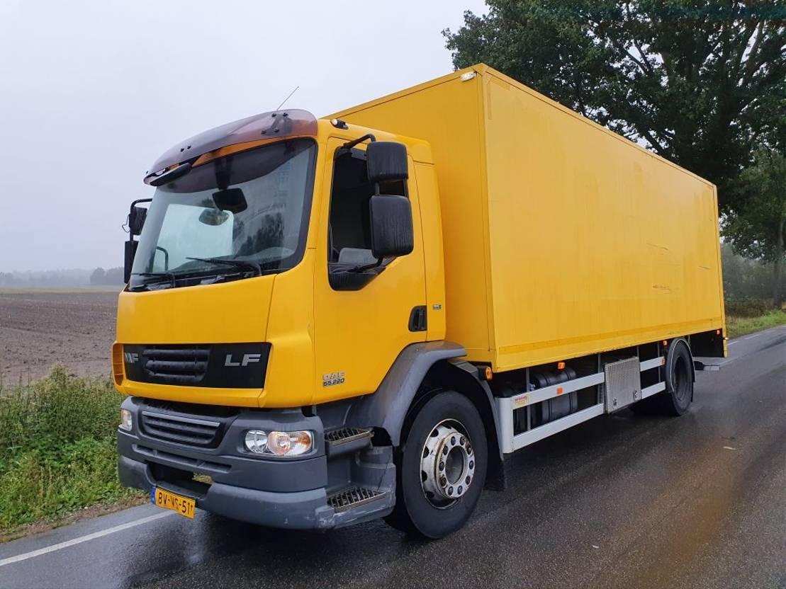 bakwagen vrachtwagen > 7.5 t DAF FA LF55G18 2009