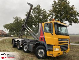 containersysteem vrachtwagen Ginaf X 4243 TS 8x4 MANUAL Haakarm 2001