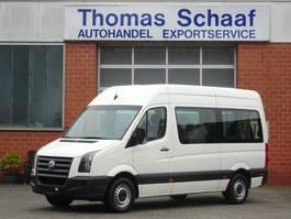 minivan - personenbus Volkswagen Crafter 2.5 Tdi L2H2 9 Sitze Rollstuhllift Klima Euro 4 2011