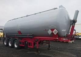 tankoplegger SPITZER 3 achs Kippsilo GGVS 44 m³ luft ABS Giftig Ätzend 1989