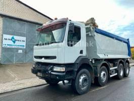 kipper vrachtwagen > 7.5 t Renault Kerax 420 dCi 8x4 Mulden Kipper BIG AXEL