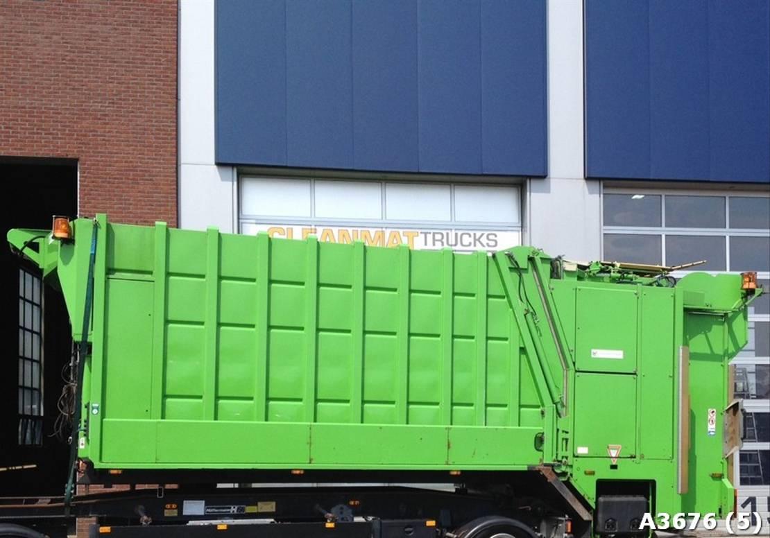 Opbouw vrachtwagen onderdeel Diversen Geesink GCP 2-compartimenten 2011