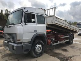 containersysteem vrachtwagen Iveco 190-38 **6CYL-FULL STEEL-FRENCH TRUCK** 1989