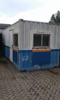 kantoor woonunit container Abarth 20ft kantoor / magazijn