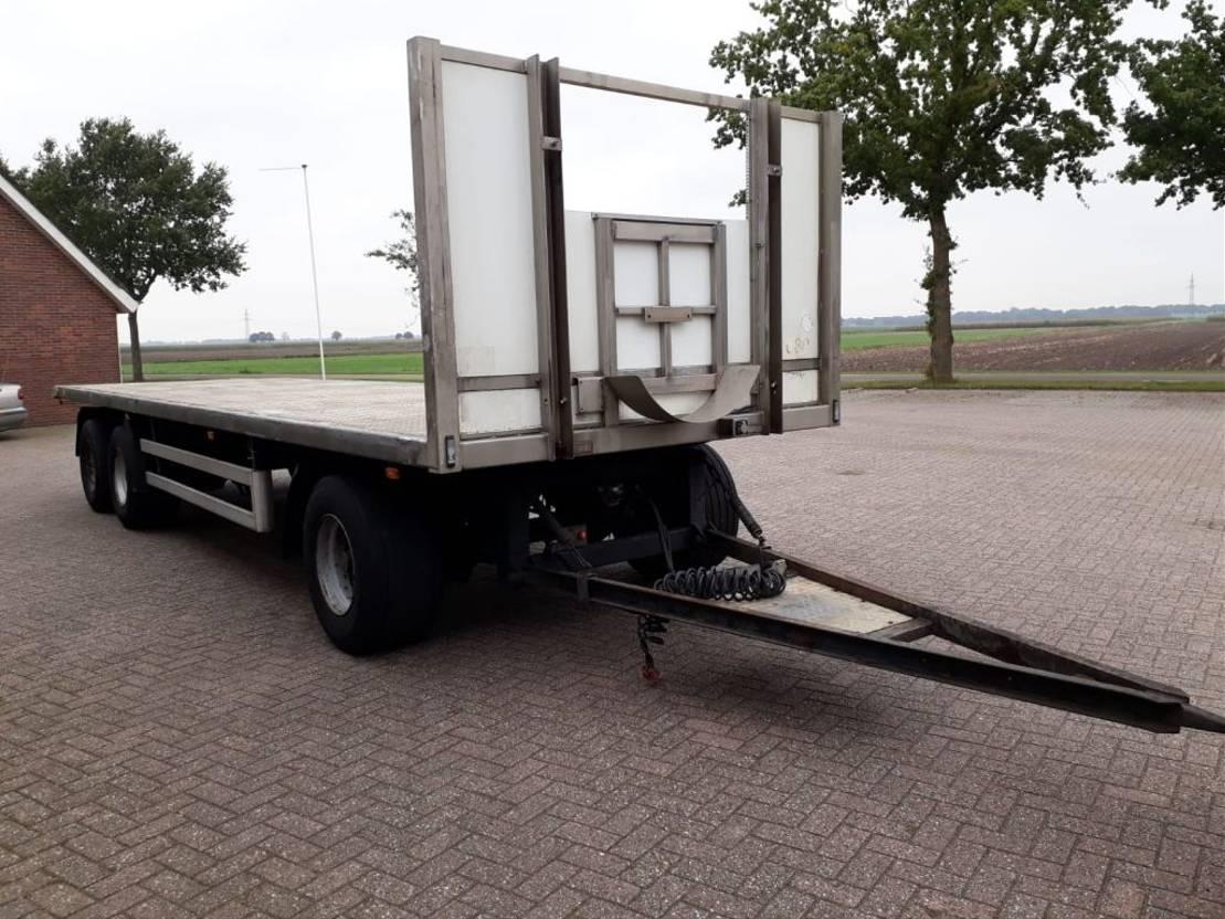 platte aanhanger vrachtwagen ROHR RAB/24 2002