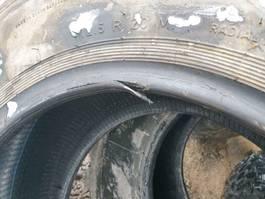 banden vrachtwagen onderdeel Continental 12.5R20_335/80R20_Continental_Dunlop_Pirelli_Gummischäden (Wulst)