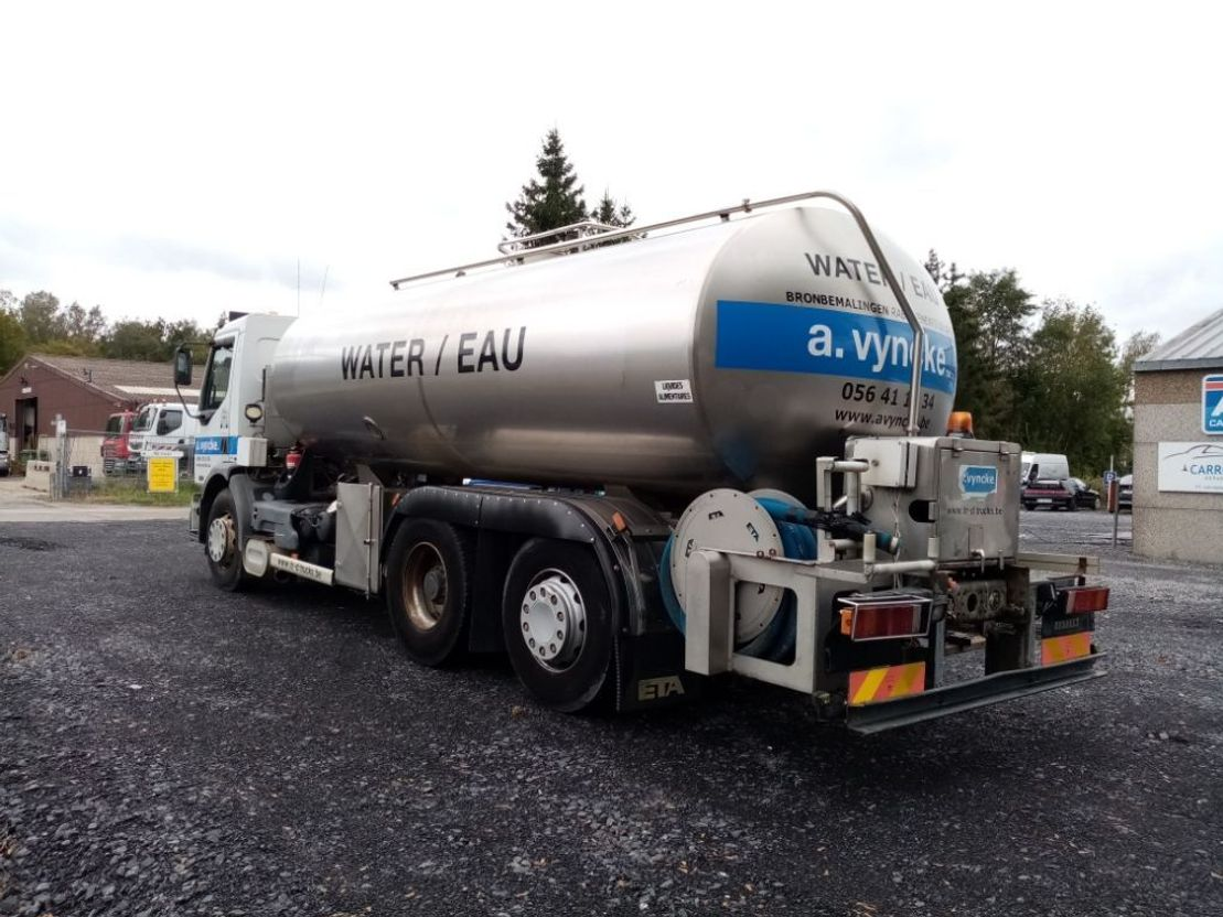tankwagen vrachtwagen Renault PREMIUM 420 DCI 6x2 WATER TANK!