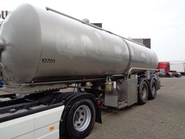 tankoplegger Trailor Milk/Water tank 2 COMP + 2 AXLE +25.000liter 2004