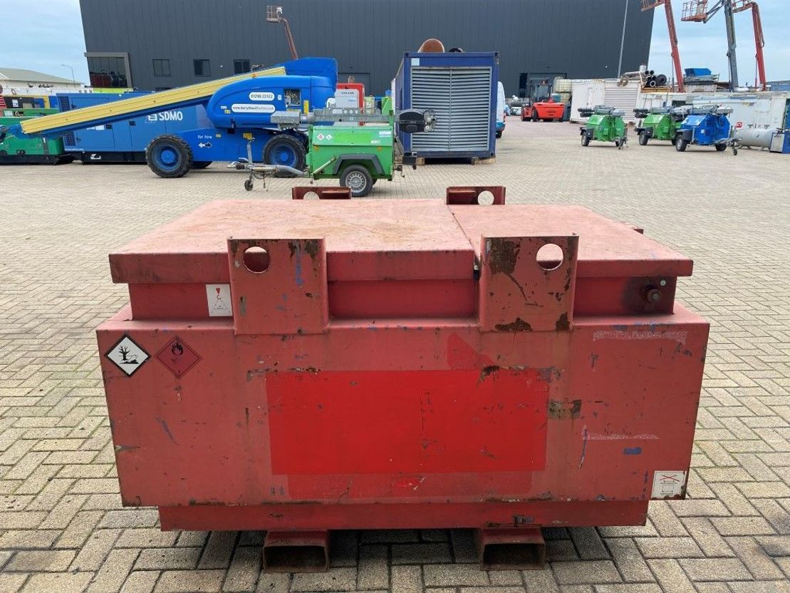 Galvanised Folding IBC Container (1000 Ltr) - HENAN