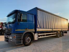huifzeil vrachtwagen Mercedes-Benz Actros 2532 2005
