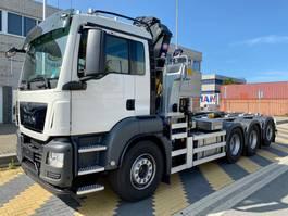 containersysteem vrachtwagen MAN TGS 35.430 8x4-4 haak+kraan 2020
