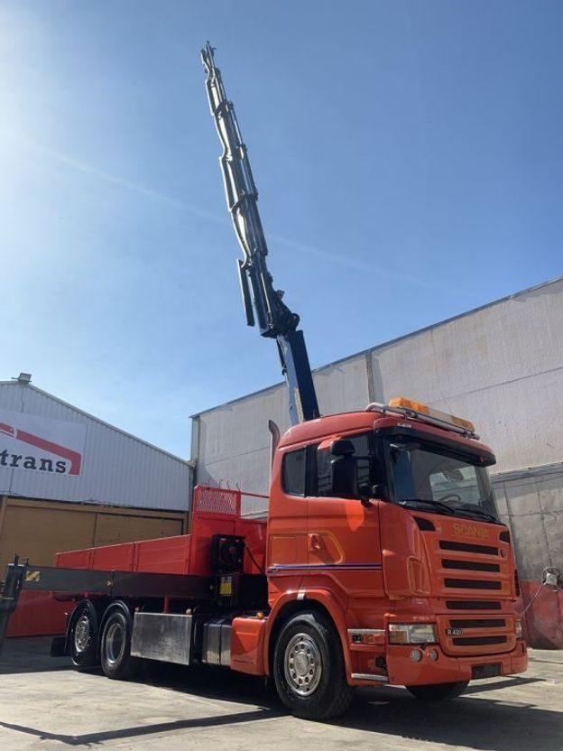 kraanwagen Scania R420 Palfinger 27002 SH 2006