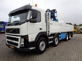 platform vrachtwagen Volvo FM 400 + PTO + Hiab 130R 2006