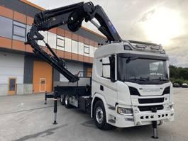 kraanwagen Scania P410+HMF5020K7+JIB FJ600K4+1 2020