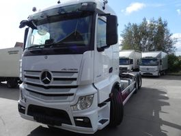containersysteem vrachtwagen Mercedes-Benz Actros 2545 containersysteem 2545L 2015