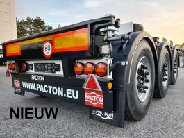 container chassis oplegger Pacton Nieuwe multi PACTON - In stock - Direct leverbaar