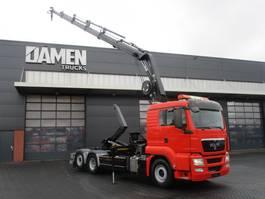 containersysteem vrachtwagen MAN TGS 26.400 6x2 Euro 5 2012